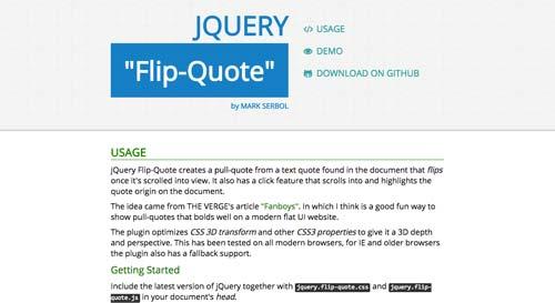 plugin-jquery-animar-texto-jQueryFlipQuote