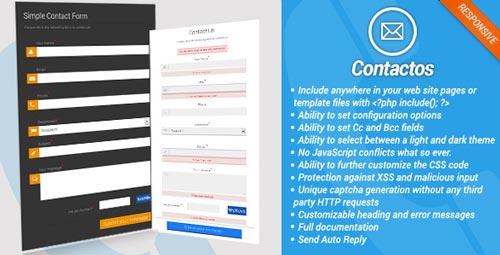 script-php-crear-formularios-web-soporte-ajax-CrossPlatformSimplePHPContactForm
