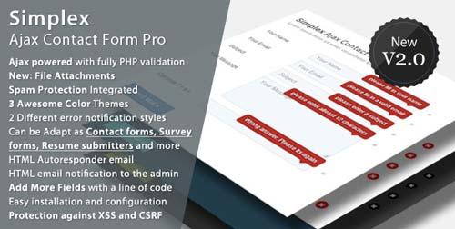 script-php-crear-formularios-web-soporte-ajax-SimplexAjaxContactFormPro