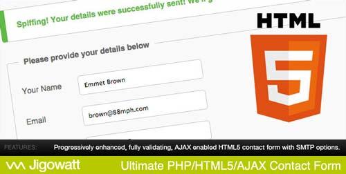 script-php-crear-formularios-web-soporte-ajax-UltimatePHPHTML5AJAXContactForm