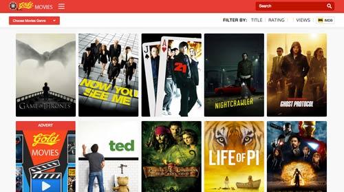 Script PHP para crear plataforma de videos: Gold Movies