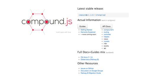 alternativas-mvc-framework-para-nodejs-Compoundjs