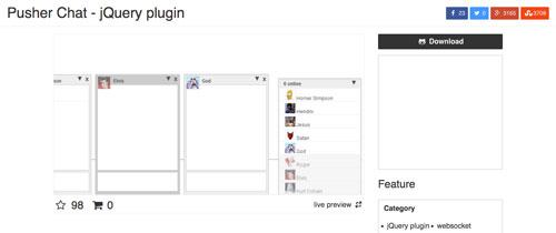 jquery-chat-plugin-opciones-crear-sala-de-chat-sitio-web-PusherChat