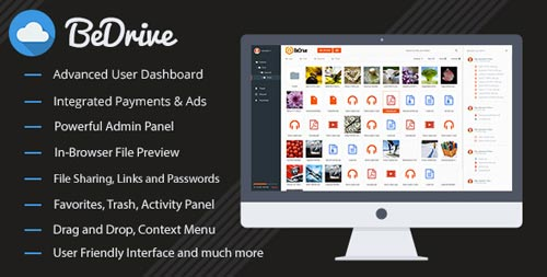 scripts-php-compartir-archivos-online-BeDrive