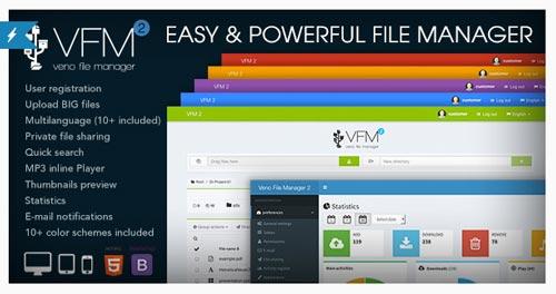 scripts-php-compartir-archivos-online-VenoFileManager