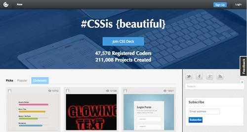 sitios-web-desarrolladores-encontrar-code-snippets-CSSDeck