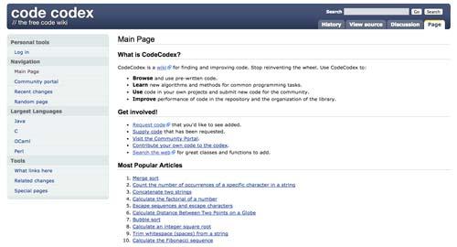sitios-web-desarrolladores-encontrar-code-snippets-CodeCodex