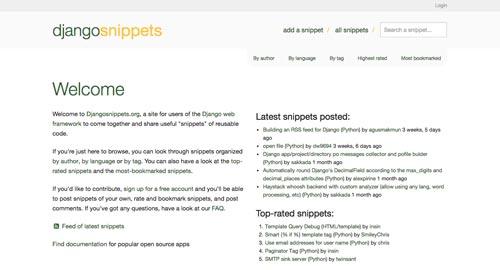 sitios-web-desarrolladores-encontrar-code-snippets-DJangoSnippets