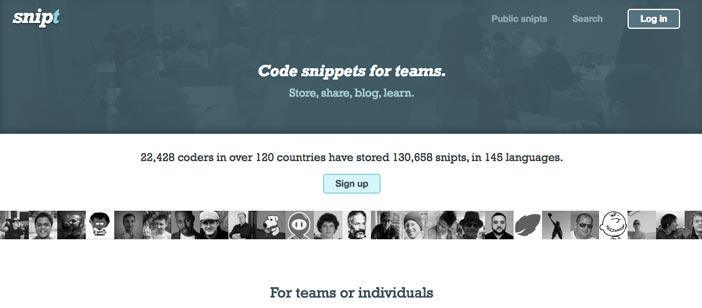 sitios-web-desarrolladores-encontrar-code-snippets-Snipt