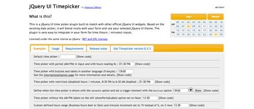 plugin-jquery-seleccionar-hora-jQueryUITimepicker