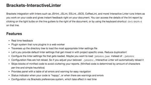 utiles-extensiones-para-brackets-InteractiveLinter