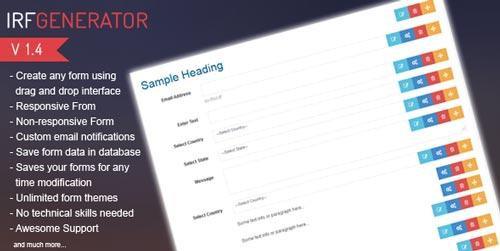 script-php-crear-formularios-web-rapidamente-IRFGenerator
