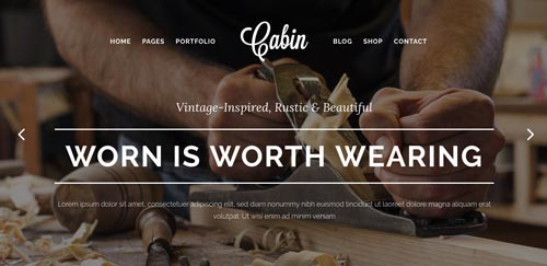 temas-wordpress-pago-estilo-vintage-Cabin