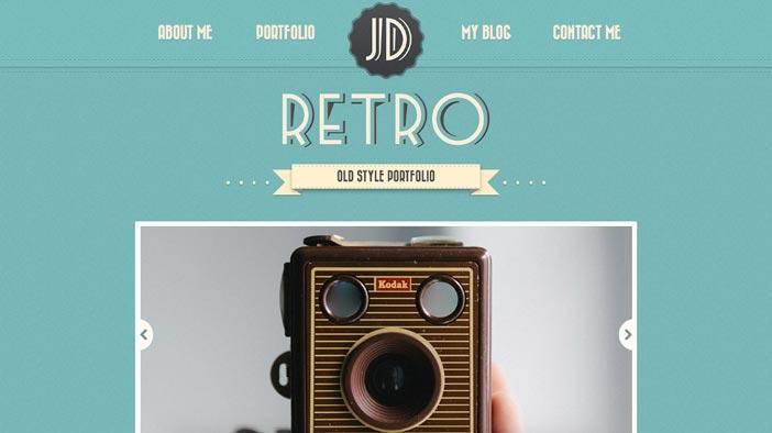 Temas Wordpress de pago que aplican el estilo vintage en su diseño