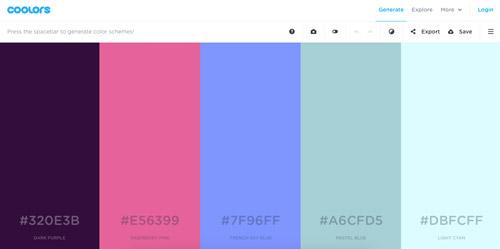 herramientas-online-generar-paletas-de-colores-coolors