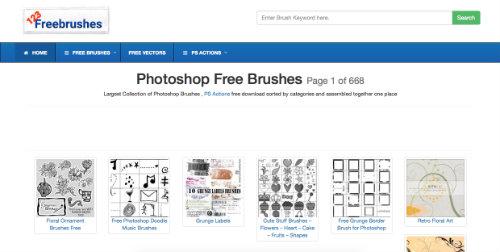 listado-sitios-web-encontrar-pinceles-photoshop-123FreeBrushes