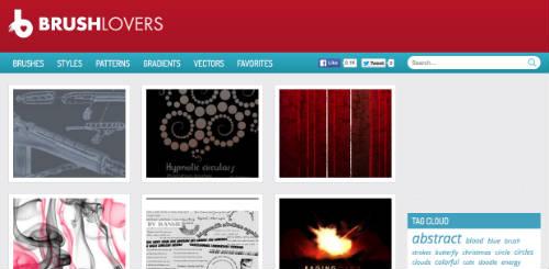 listado-sitios-web-encontrar-pinceles-photoshop-BrushLovers