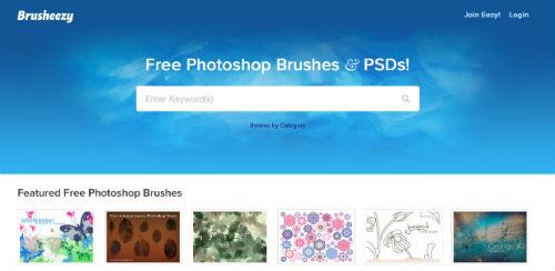 listado-sitios-web-encontrar-pinceles-photoshop-Brusheezy