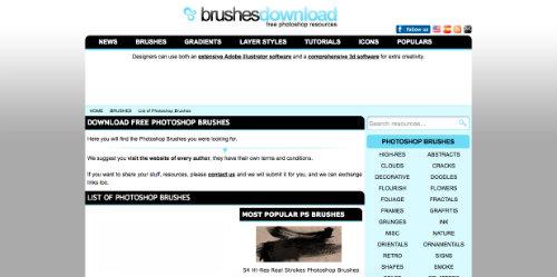 listado-sitios-web-encontrar-pinceles-photoshop-BrushesDownload
