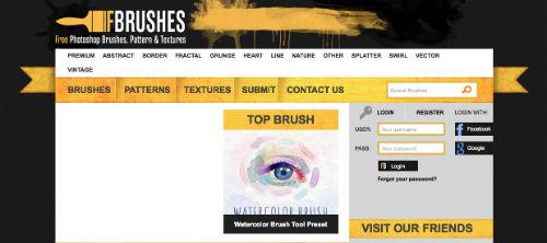 listado-sitios-web-encontrar-pinceles-photoshop-FBrushes