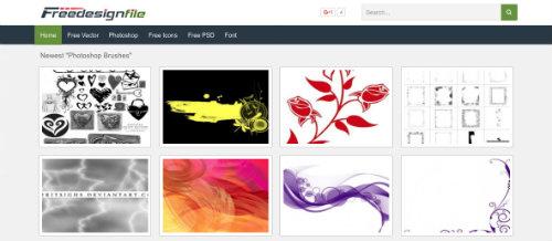 listado-sitios-web-encontrar-pinceles-photoshop-FreeDesignFile