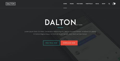 temas-wordpress-paginas-de-aterrizaje-aplicaciones-moviles-dalton