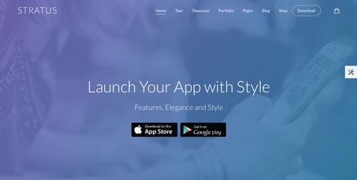 temas-wordpress-paginas-de-aterrizaje-aplicaciones-moviles-stratus