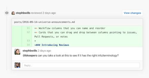 nuevas-funciones-de-github-desarrolladores-trabajar-en-equipo-sistema-comentarios