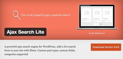 plugins-wordpress-gratuitos-mejorar-busqueda-contenido-sitio-wordpress-ajaxsearchlite