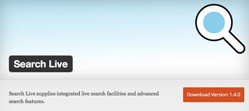 plugins-wordpress-gratuitos-mejorar-busqueda-contenido-sitio-wordpress-searchlive
