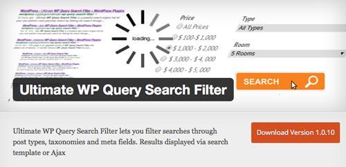 plugins-wordpress-gratuitos-mejorar-busqueda-contenido-sitio-wordpress-ultimatewpquerysearchfilter