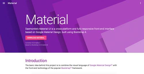 material-design-frameworks-aplicaciones-sitios-web-material