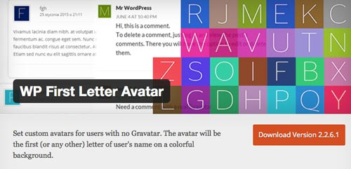 plugins-wordpress-reemplazar-gravatar-usuarios-wpfirstletteravatar