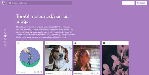 opciones-plataformas-de-blogging-considerar-tumblr