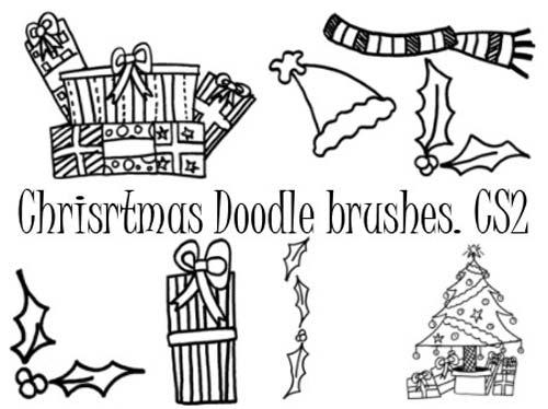 pinceles-navidenos-para-photoshop-forma-gratuita-christmasdoodlebrushes