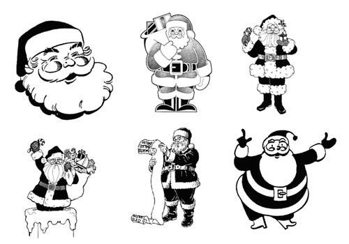 pinceles-navidenos-para-photoshop-forma-gratuita-santaclausstnick