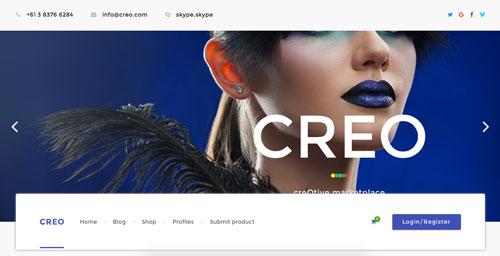temas-wordpress-de-pago-uso-material-design-creo