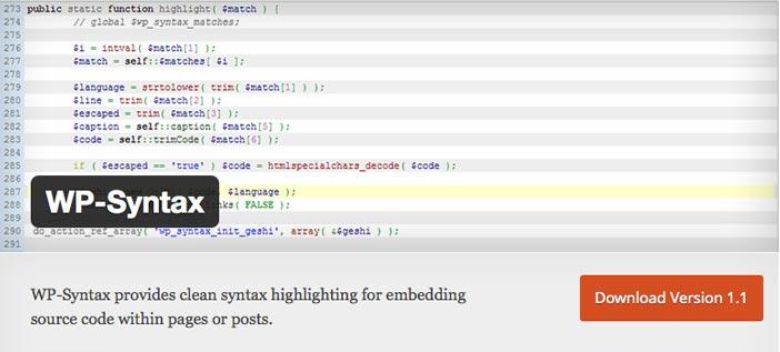 Plugins Wordpress gratuitos para mostrar código en entradas