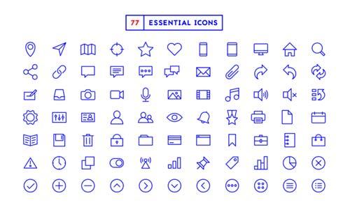 eeb8dc29f9aa0 Este paquete de iconos fue el resultado de un proyecto y desafío personal  del diseñador